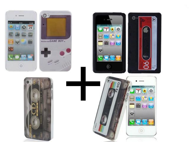 handy h lle case cover design gameboy retro kassette f r. Black Bedroom Furniture Sets. Home Design Ideas