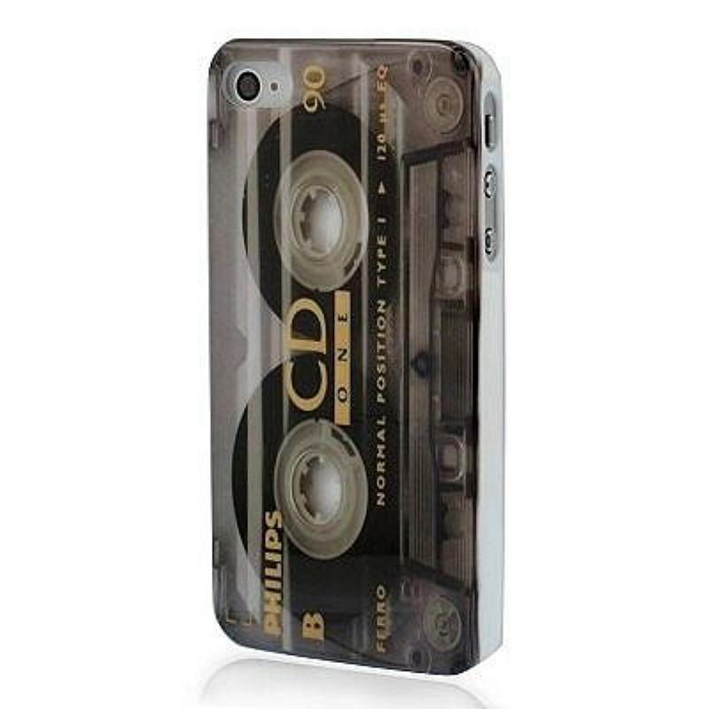 schutzh lle retro look kassette cover hard case h lle f r. Black Bedroom Furniture Sets. Home Design Ideas