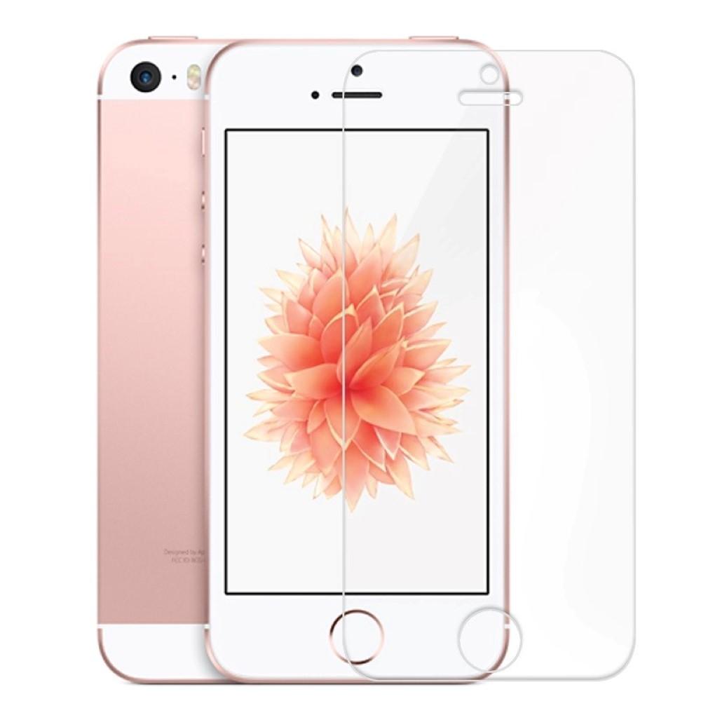 5 x apple iphone se panzerglas schutzglas panzerfolie. Black Bedroom Furniture Sets. Home Design Ideas