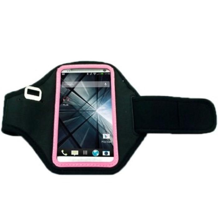 sportarmband tasche f r handy htc one m7 pink