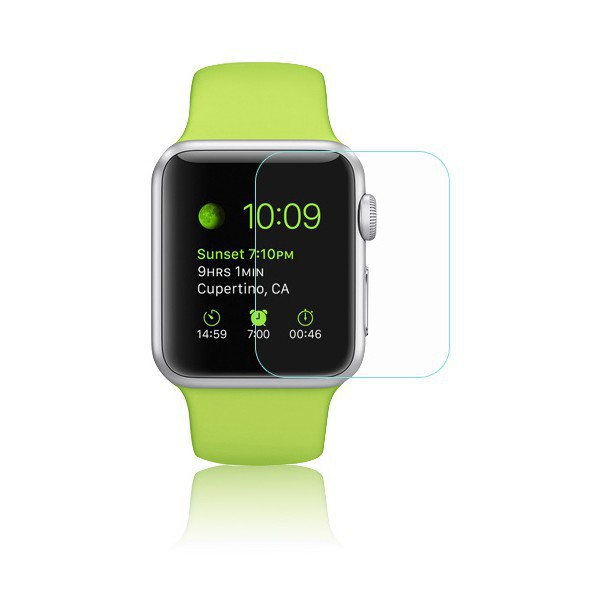 apple watch 38mm displayschutzfolie 9h verbundglas panzerglas schutzglas screen ebay. Black Bedroom Furniture Sets. Home Design Ideas